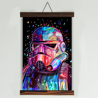 SW Multi-color Canvas Wall Art