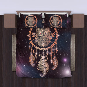 Tribal Wolf Dream Catcher Bedding Set