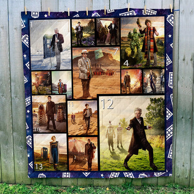 Doctor Who Scenery Collection Art Quilt