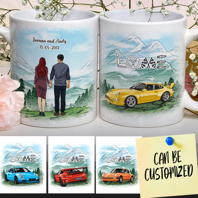Personalized 911 Couple Mug V2