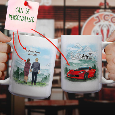 Personalized CV Couple Mug V2