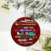 Personalized Car Racing Family Ornament