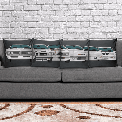 Firebird Evolution Cushion Pillow Set