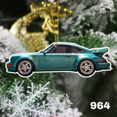 911 Christmas Tree Decoration Hanging Ornament Set