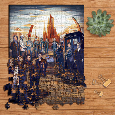 The Doctors Collection Wooden Jigsaw Puzzles
