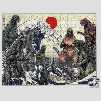 Godzilla Collection Jigsaw Puzzles