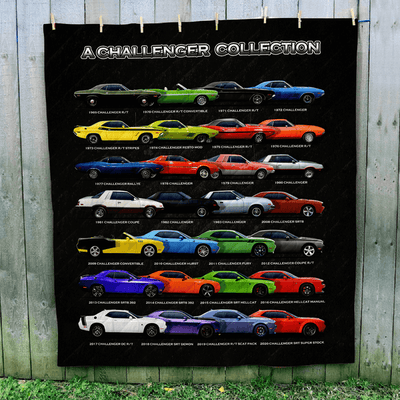 Sensational Sideview Challenger Collection Art Quilt