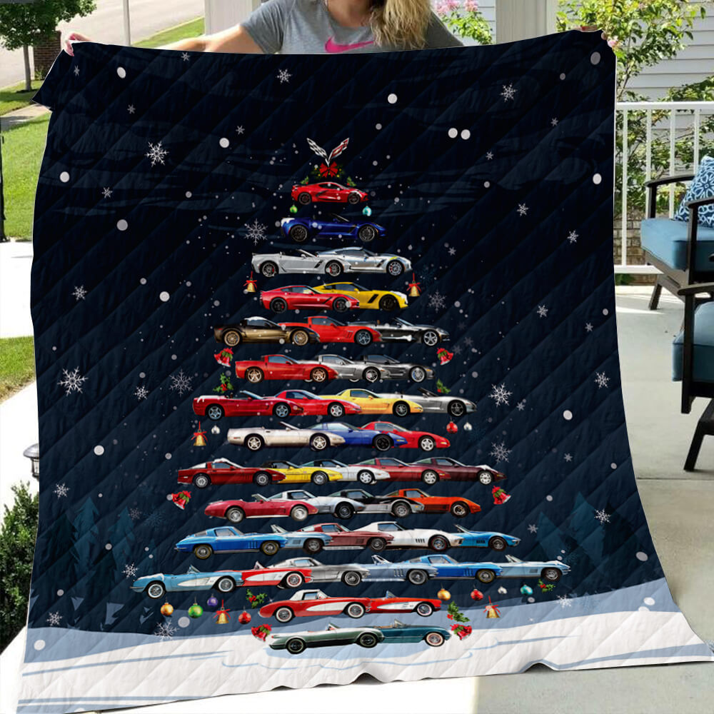 CV Christmas Quilt - Christmas Tree From All CVs