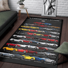 Camaro Collection All Floors Premium Art Rug