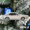 Mustang Christmas Tree Decoration Hanging Ornament Set