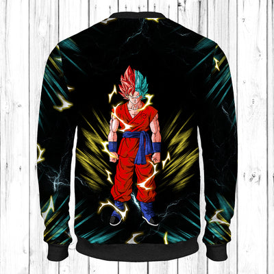 Goku Super Saiyan God-Blue Sweatshirt