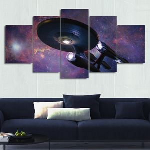 NCC-1701 Canvas Wall Art
