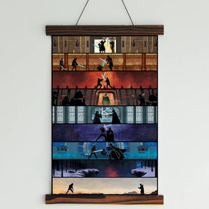 SW 9 Movies Canvas Wall Art
