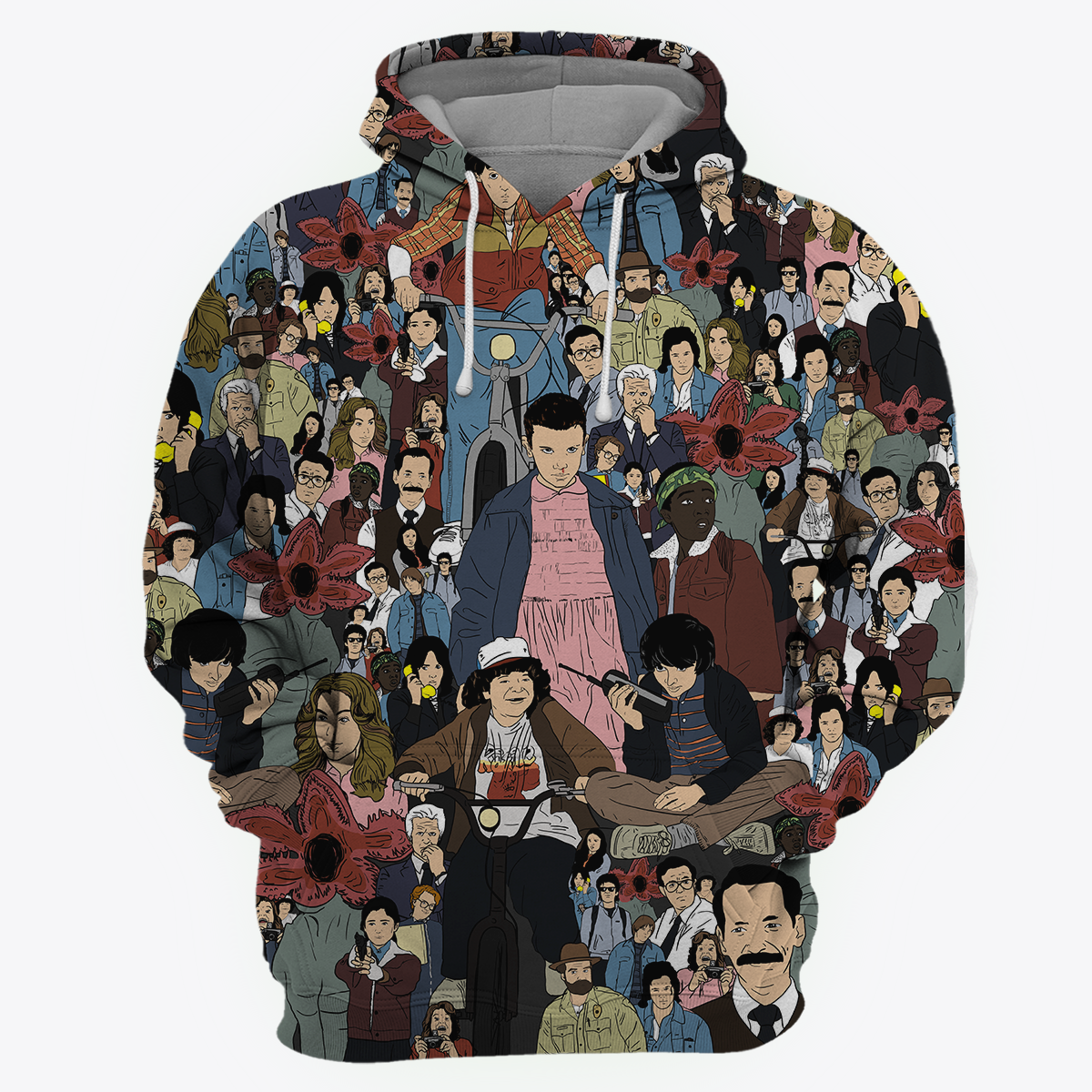 ST All Over Print Hoodie