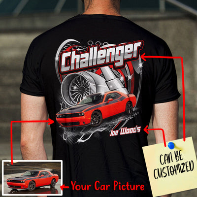 Customized Car Racing Art T-shirt