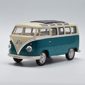 1/24 Scale 1950 VW Bus T2 Diecast Metal Car Model