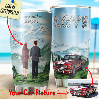 Customize Your Car Stainless Steel Tumbler