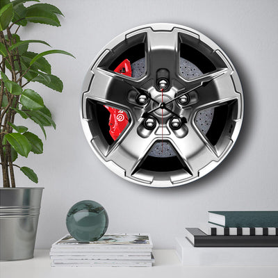 Jeep Steering Wheel Wall Clock