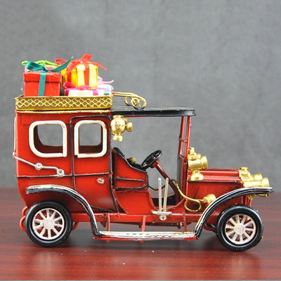 Car with Christmas Gifts Vintage Model V.2