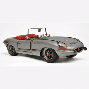 1/12 1961 E-Type Jaguar Convertible Vintage Model