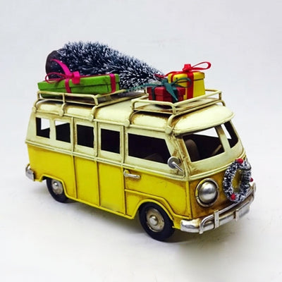 Kombi with Christmas Tree and Gifts Vintage Model