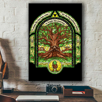 LEGEND OF ZELDA - TREE OF LIFE CANVAS WALL ART