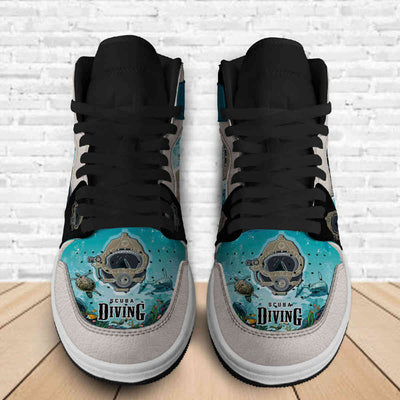 SCUBA DIVING AJ STYLE SNEAKERS