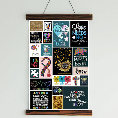 Autism Canvas Wall Art