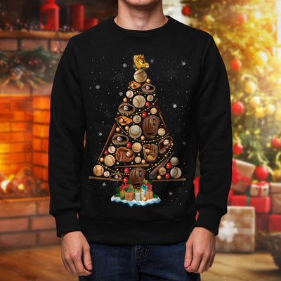 Baseball Christmas Sweatshirt
