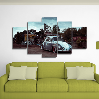 Beetle Canvas Wall Art