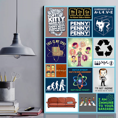 BBT Canvas Wall Art