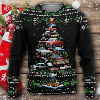 Cadillac Eldorado Christmas Sweater