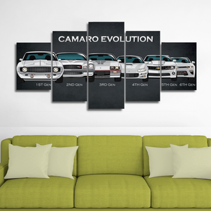 Separate Frames for Camaro Canvas Wall Art (No canvas attached)