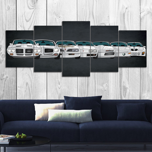 Trans Am Canvas Wall Art (new version)