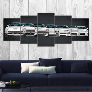 Z-car Canvas Wall Art (new version)