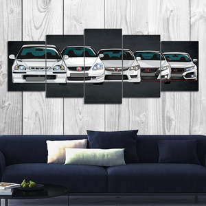 Type R Canvas Wall Art (new version)