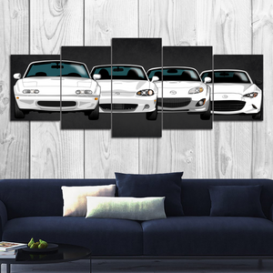 Miata MX-5 Canvas Wall Art (new version)