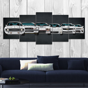 Camaro Canvas Wall Art (new version)