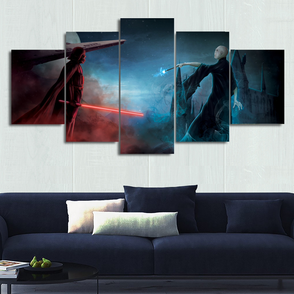 The First Ultimate Battle - Canvas Wall Art
