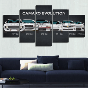 Camaro Canvas Wall Art