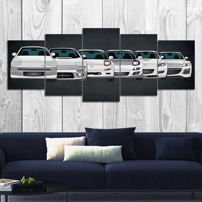 RX7-RX8 Canvas Wall Art (new version)
