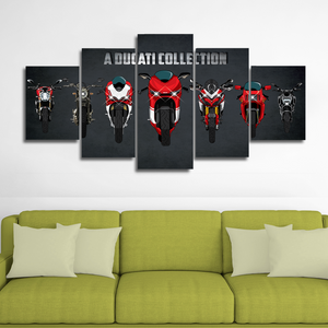 Ducati Collection Canvas Wall Art