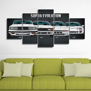 Supra Canvas Wall Art