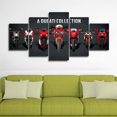 Ducati Collection (ver.2) Canvas Wall Art