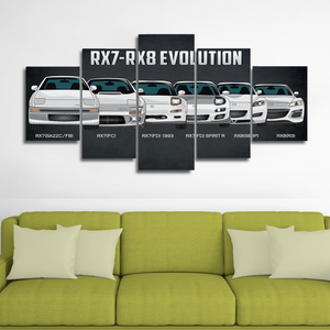 RX7/RX8 Canvas Wall Art