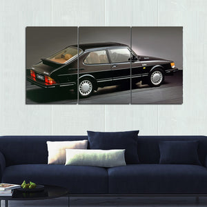 Saab 900 Turbo Canvas Wall Art
