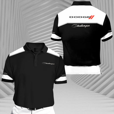 Challenger-RCV1 Racing Series Short Sleeve Polo T-Shirt