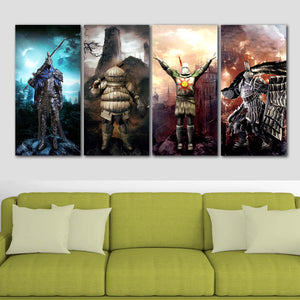 Dark Souls Lordran Bros Canvas Wall Art