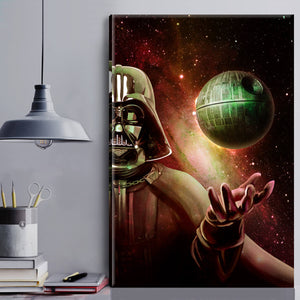 Vader & Death Star Canvas Wall Art