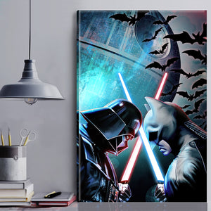 Vader vs BM Canvas Wall Art